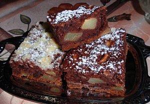 Jablečník bez vajec - jablečný koláč (buchta)