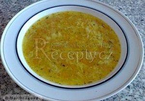 Mrkvová polévka - rychlá