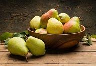 Pečené hrušky / jablka s karamelovým srdcem