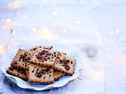 Sušenky s kakaovými boby