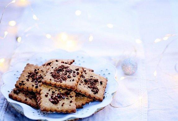 Sušenky s kakaovými boby photo-0