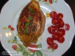 Plněná kuřecí prsa