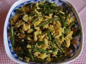 Fazolková rýže - (nejen) příloha