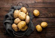 Slané bramborové bábovičky