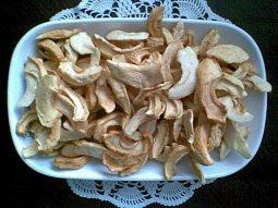 Křížaly - sušená jablka