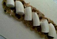 Banánový závin s rebarborou