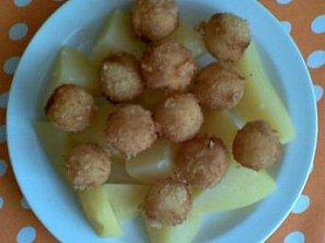 Sýrové kuličky-smažené