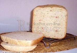 Francouzský slaninový chléb