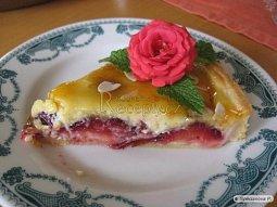 Prune tart aneb netradičně opilý švestkový koláč