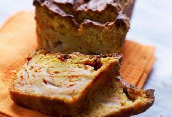 Dýňový chlebíček z pižmové dýně