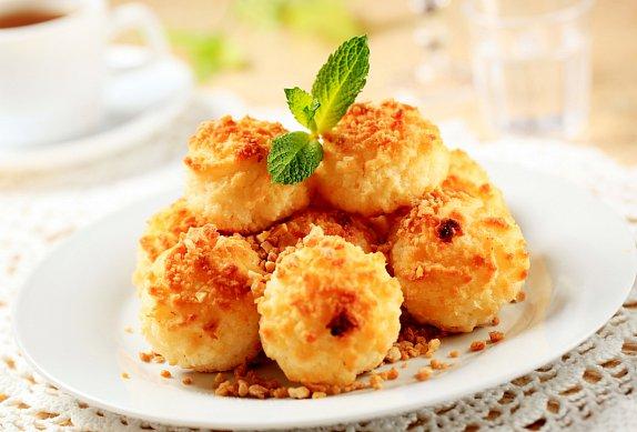 Kokosky s marmeládou