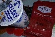Jogurtové Tandoori Masala řízky