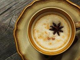 Dýňové cappuccino