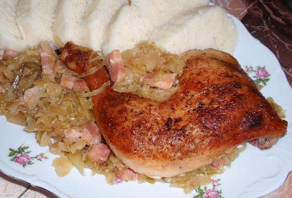 Kuře (nejen) na zelí - Recepty.cz - On-line kuchařka c004ca4bca6