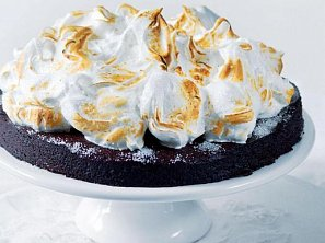 Kakaový bramborový dort