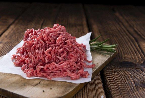 Mleté maso s ředkvičkami