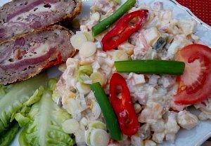 Tuřínový salát (na způsob bramborového)