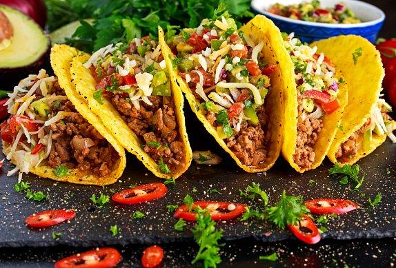 Mexické taco koření