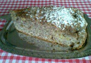 Makový koláč s rebarborou