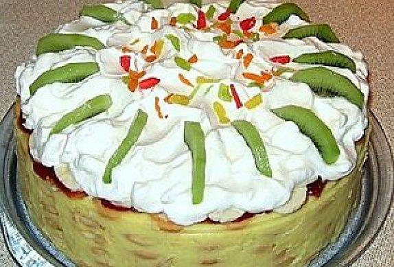 """Piškotový dort """"Malakov"""""""