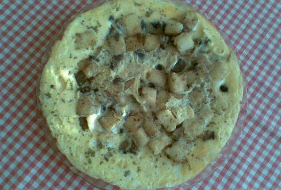 Houbovo-knedlíková omeleta photo-0