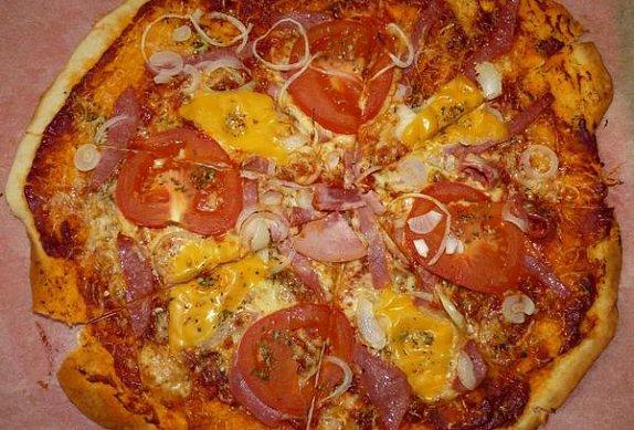 Výborná pizza
