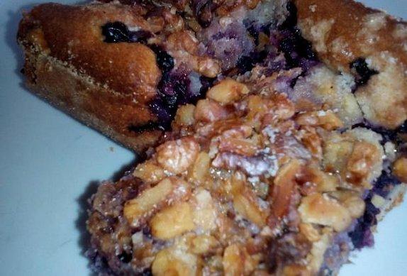Borůvkový koláč - jednoduchý a výborný