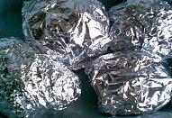 Kotlety (řízky) v alobalu