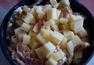 Řízky plněné šunkovo-sýrovou smaženicí