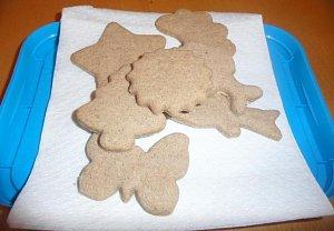 Vánoční cukroví - Skořicové  a kořeněné čtverečky