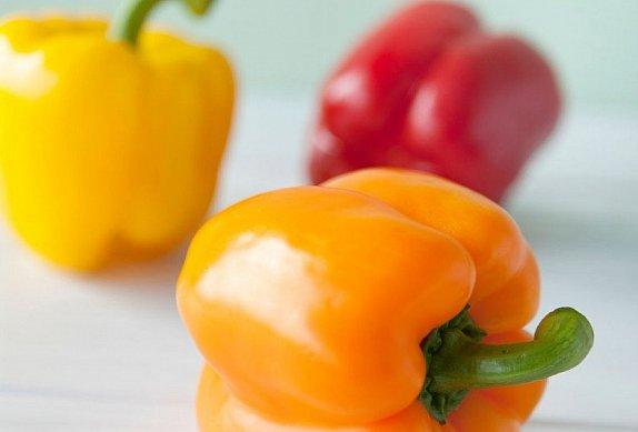 Smažené plněné papriky