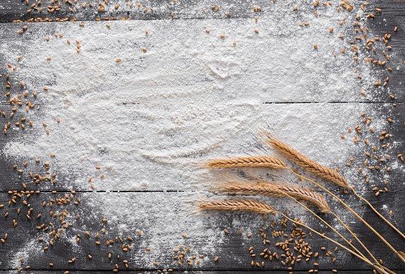 Sleď na másle s fazolovo-mandlovou kaší