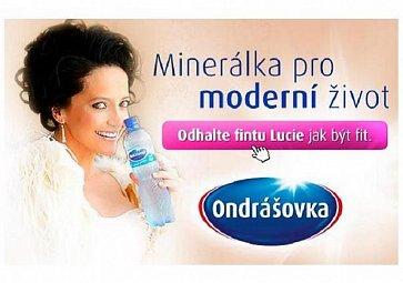Lucie Bílá – strážce pitného režimu
