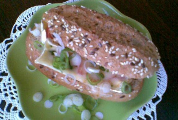 Plněné žitné chlebánky (žemle)
