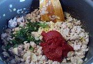 Zapečená cuketa /lilek s mletým masem a mozzarellou