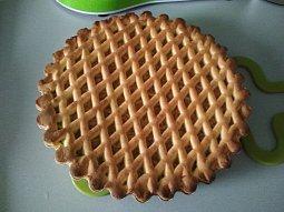 Mřížkový koláč naší babi