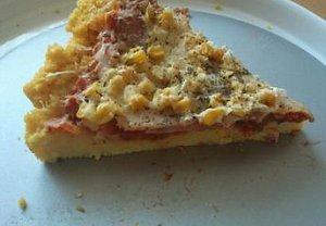 Pizza z polenty - zdravě