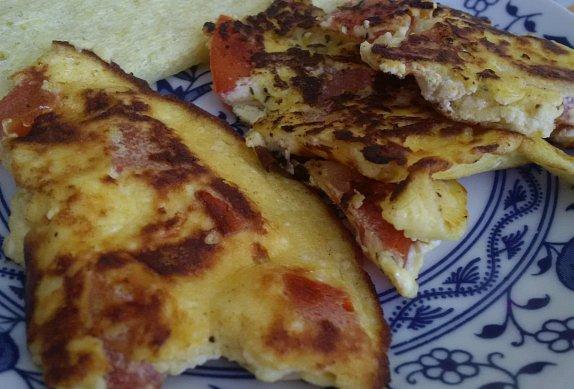 Trhaná omeleta