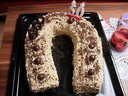 Podkova - dort