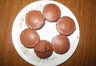 Extra čokoládové muffiny