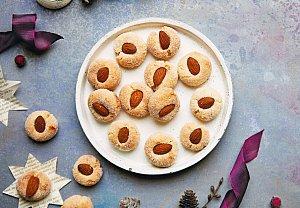 Křupavé mandlové sušenky