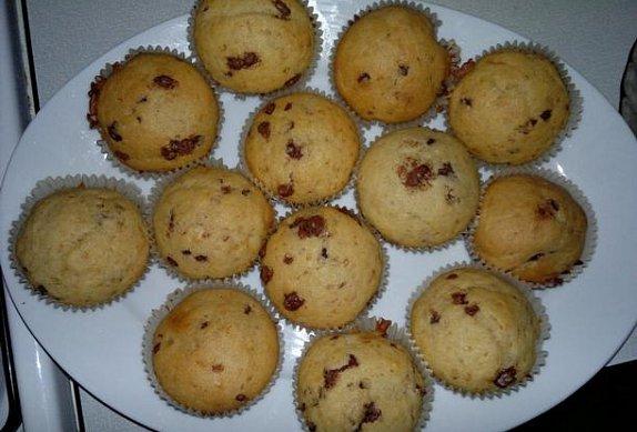 Muffiny s kousky čokolády photo-0