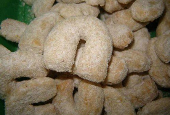 Vanilkové rohlíčky s ořechy photo-0