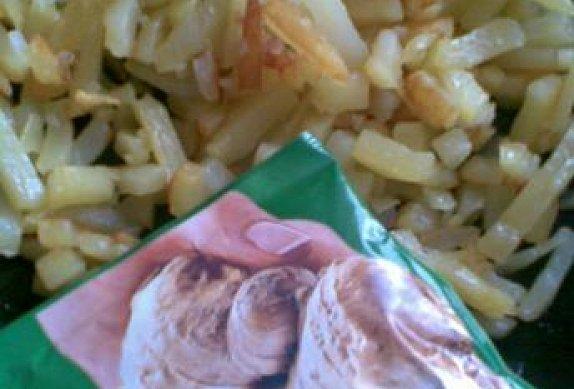 Restované brambory - zázvorové