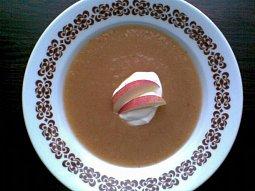 Sladká jablková polévka