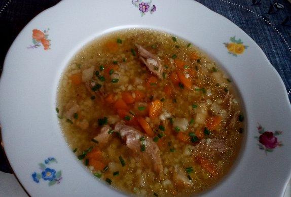 Nejrychlejší zavářka (drobení, strouhání) do polévky