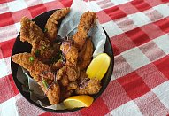 Rybí hranolky ze sumečka afrického