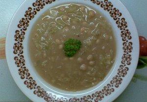 Cizrnovo - pórková polévka