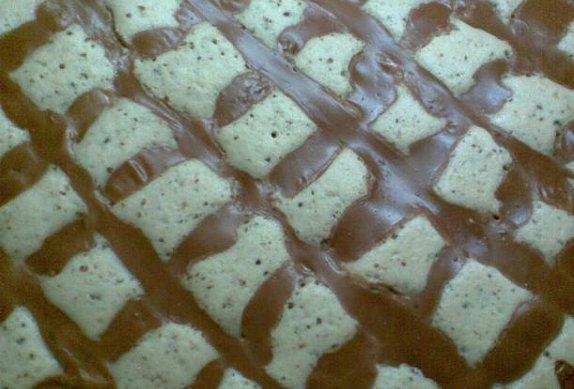 Jogurtový Margot koláč s pudinkem