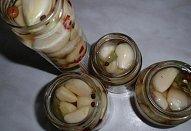 Nakládaný česnek - sterilovaný